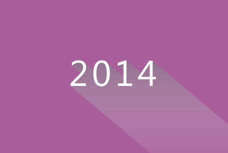 2014年にWEBの流行